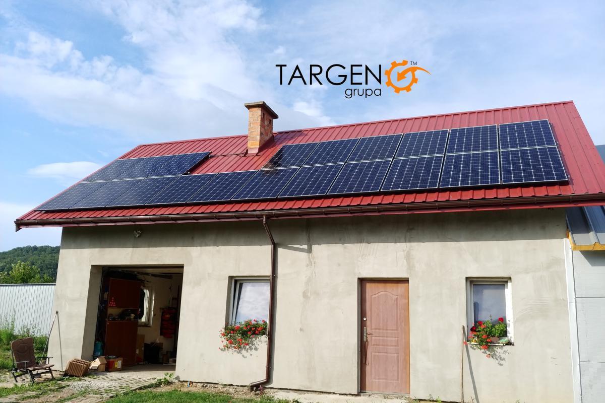 Instalacja fotowoltaiczna 6,2 kWp