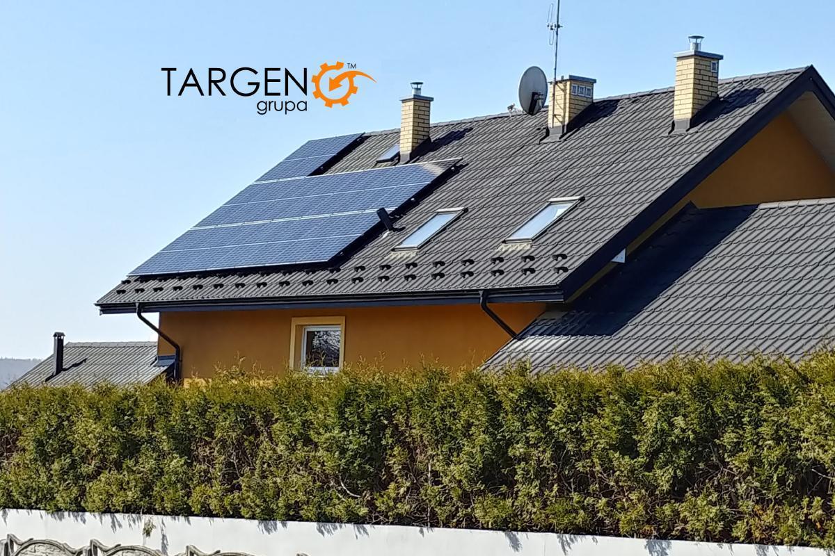 Instalacja fotowoltaiczna 5,28kWP, Moduły: 16 x Seraphim 330Wp, Falownik: SolarEdge SE5K