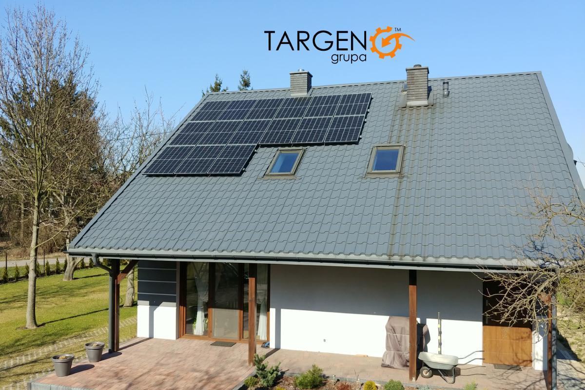 Instalacja fotowoltaiczna 4,95kWp, Moduły: 15 x Seraphim 330Wp, Falownik: SolarEdge SE4K