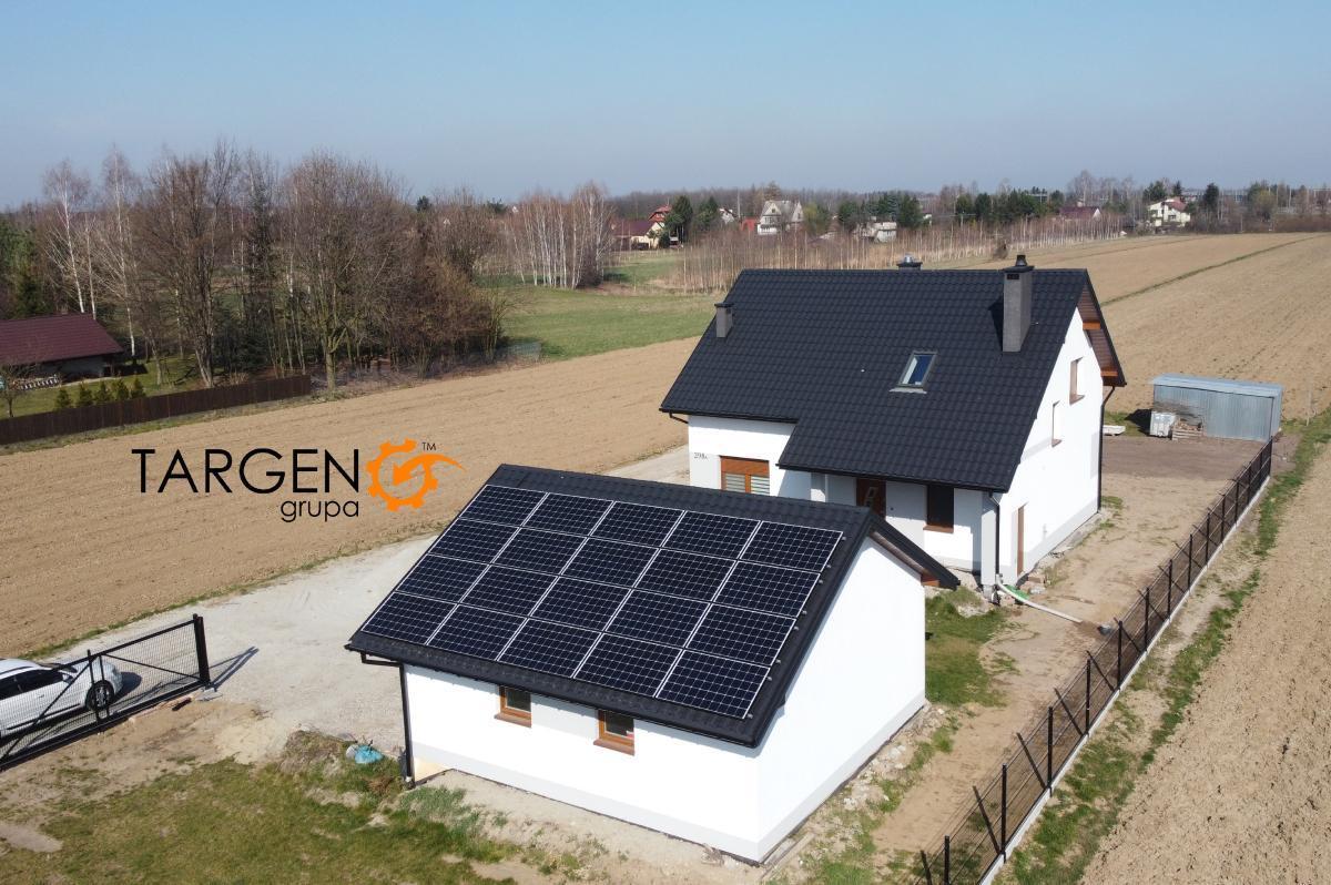 Instalacja fotowoltaiczna 6,1kWp, Moduły: 20 x LONGI 305Wp, Falownik: SolarEdge SE6K